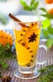 Punzone arancione fotografie stock