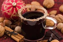 Punzone caldo del vino immagini stock libere da diritti