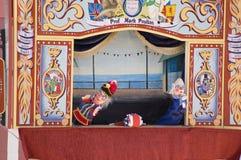 Punzone e prestazione di Judy, Weymouth Fotografia Stock