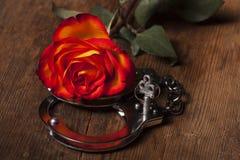 Puños de la mano del metal Foto de archivo libre de regalías