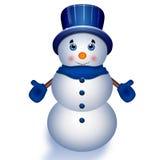 Pupazzo di neve. Immagini Stock