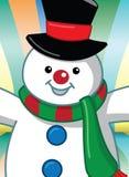 Pupazzo di neve fotografia stock libera da diritti