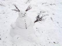 Pupazzo di neve Immagine Stock Libera da Diritti