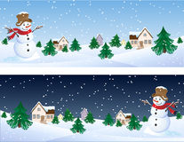Pupazzo di neve Fotografia Stock
