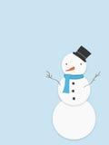 Pupazzo di neve Immagini Stock
