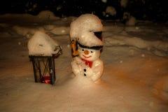Pupazzo di neve Fotografie Stock Libere da Diritti