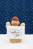 Pupazzo di neve Fotografie Stock