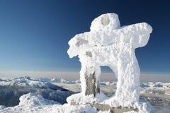 Pupazzo di neve abominabile Immagine Stock Libera da Diritti