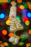 Pupazzo di neve di Natale Immagine Stock Libera da Diritti