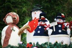 Pupazzo di neve di natale Immagine Stock