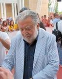 Pupi Avati al Giffoni Ekranowy festiwal 2010 Obrazy Royalty Free