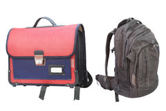 Pupil's bag Stock Photography