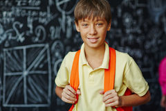 Pupil at school Royalty Free Stock Image