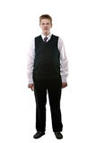The pupil  in a school uniform Royalty Free Stock Photos