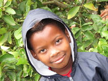 Pupila del afroamericano Foto de archivo