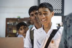 Pupilas de Sri Lanka Imagem de Stock