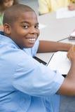 Pupilla della scuola elementare Immagini Stock Libere da Diritti