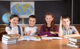 Pupille della scuola elementare fotografia stock libera da diritti
