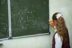 Pupilles dans une classe. Image libre de droits