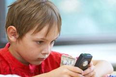 Pupils in a class. Boy in a class. School change Royalty Free Stock Photography