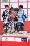 Pupils Podium Royalty Free Stock Photos