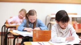 Pupils working Stock Image