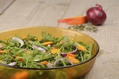 Pupkin salad Stock Photos