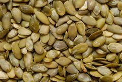 Pupkin Seeds Stock Photos