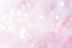 Puple und weißer abstrakter Hintergrund der weichen Lichter Lizenzfreie Stockbilder