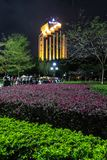 Puplic park Down Town Shenzhen, South China royalty free stock photos
