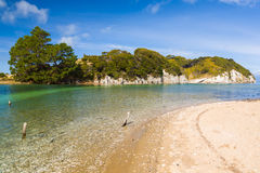 Puponga Golden Bay, Nelson, New Zealand Royalty Free Stock Image