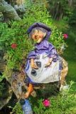 Puppe der alten Hexe Stockbilder