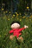Puppe in der Natur Lizenzfreie Stockbilder