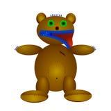 Puppe des Bären Lizenzfreies Stockfoto
