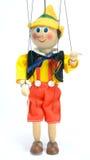 Puppe, die sie steht Lizenzfreie Stockfotos