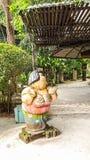 Puppe für verzieren in thailändischem Stockbilder