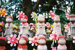 Puppe Janpanese Jizo lizenzfreie stockbilder