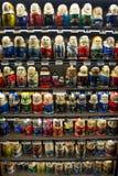 Puppen Babushka (Matryoshka) lizenzfreies stockbild