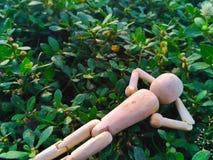 Puppen sind sich entspannen Lizenzfreies Stockfoto