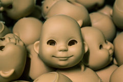 Puppenfabrik Stockfotografie