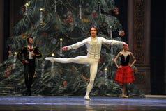 Puppeninkarnation in Prinz reizend-D Ballett Nussknacker Lizenzfreies Stockbild
