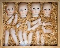 Puppenkörperteile stockfoto