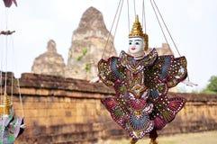 Puppet at angkor,cambodia Stock Image
