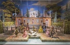 Puppet baroque installation in Hohensalzburg Fortress. Salzburg , Austria. Stock Images