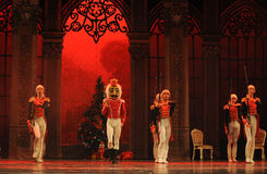 Puppet become alive-The Ballet  Nutcracker Royalty Free Stock Images