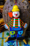 Puppet clown. Royalty Free Stock Image