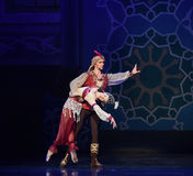 """A puppet doll- ballet """"One Thousand and One Nights"""" Stock Image"""