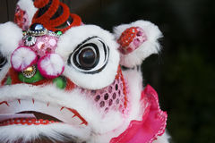 Puppet dragon. The face of a puppet dragon, Chinese style Royalty Free Stock Photos