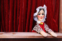 Puppet of Guignol Theater Stock Photo