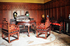 Puppet Palace Chinese Room Stock Photography